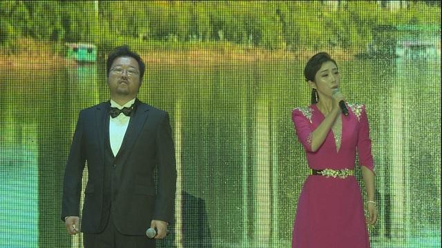 精准扶贫歌曲《一起幸福》在临夏永靖县精彩上演