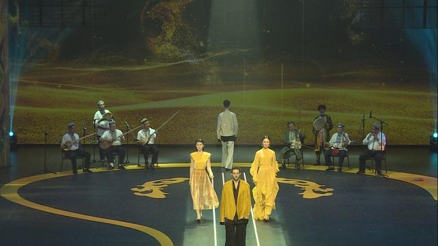 绝色敦煌之夜上演民族乐与传统服饰视觉盛宴