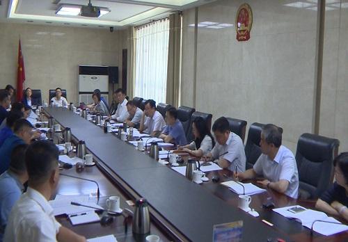 兰州市召开生活垃圾分类工作推进会,韩显明主持会议并讲话