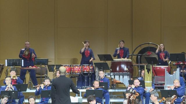 气势磅礴的管弦乐队在兰州音乐厅亮相